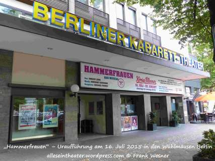 Hammerfrauen 20150715 01 Wühlmäuse Berlin (c) Frank Wesner_