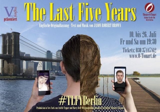 """The Last Five Years"" mit Voci Inglesi im Theater O-TonArt Berlin"