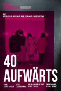 40 Aufwärts 20160211 Theaterschiff Bremen - Plakat