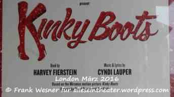 Kinky Boots London