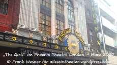 """""""The Girls"""" im Phoenix Theatre London – März 2017 © Frank Wesner"""