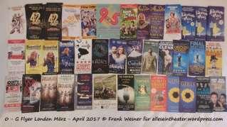 Flyer London März - April 2017 © Frank Wesner für alleseintheater.wordpress.com