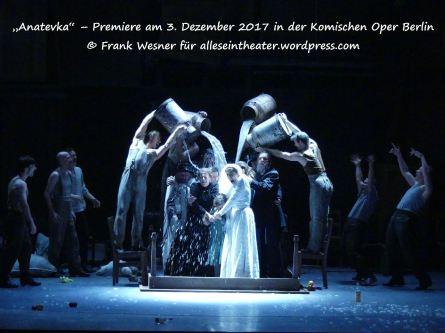 """""""Anatevka"""" – Premiere am 3. Dezember 2017 in der Komischen Oper Berlin © Frank Wesner"""