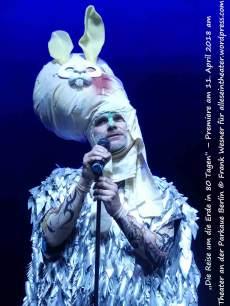 """""""Die Reise um die Erde in 80 Tagen"""" – Premiere am 11. April 2018 am Theater an der Parkaue Berlin © Frank Wesner"""