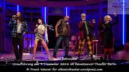 """Tanke Sehnsucht"" – Uraufführung am 9. Dezember 2018 im Renaissance-Theater Berlin © Frank Wesner"
