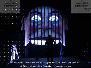Felix Krull - Premiere am 16. August 2019 im Berliner Ensemble © Frank Wesner