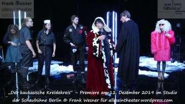 """""""Der kaukasische Kreidekreis"""" – Premiere am 12. Dezember 2019 im Studio der Schaubühne Berlin © Frank Wesner"""