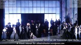 """""""La Traviata"""" – Premiere am 1. Dezember 2019 an der Komischen Oper Berlin © Frank Wesner"""